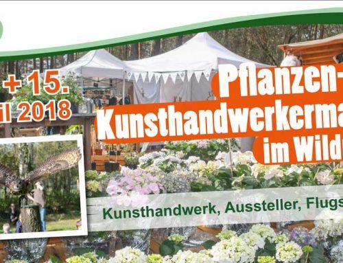 Pflanzen- und Kunsthandwerkermarkt im Wildpark Müden