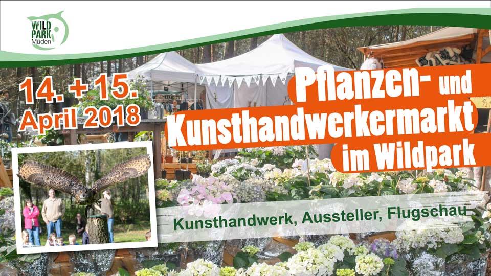 Kunsthandwerker_Pflanzenmarkt Wildpark Müden