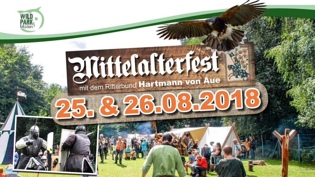 Mittelalterfest im Wildpark Müden 2018