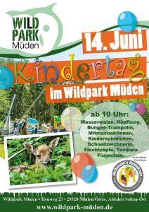 Kidnertag im Wildpark Müden