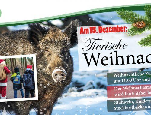 Tierische Weihnacht am 15. Dezember 2018