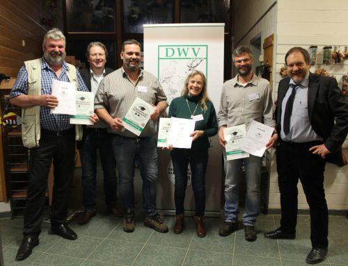 Wildpark Müden erhält DWV Bildungssiegel Stufe 2