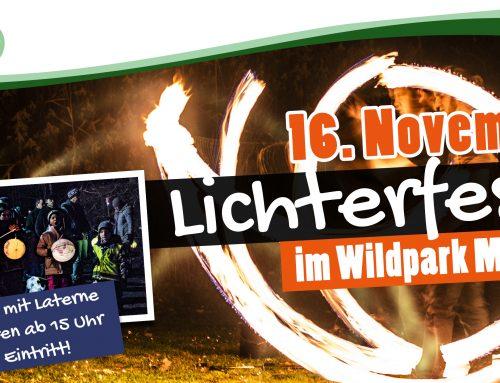 Lichterfest im Wildpark Müden 2019