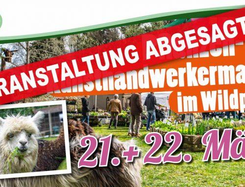 Pflanzen- und Kunsthandwerkermarkt – ABGESAGT –