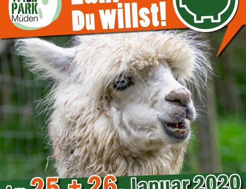 Zahl was Du willst! – Aktion im Wildpark Müden