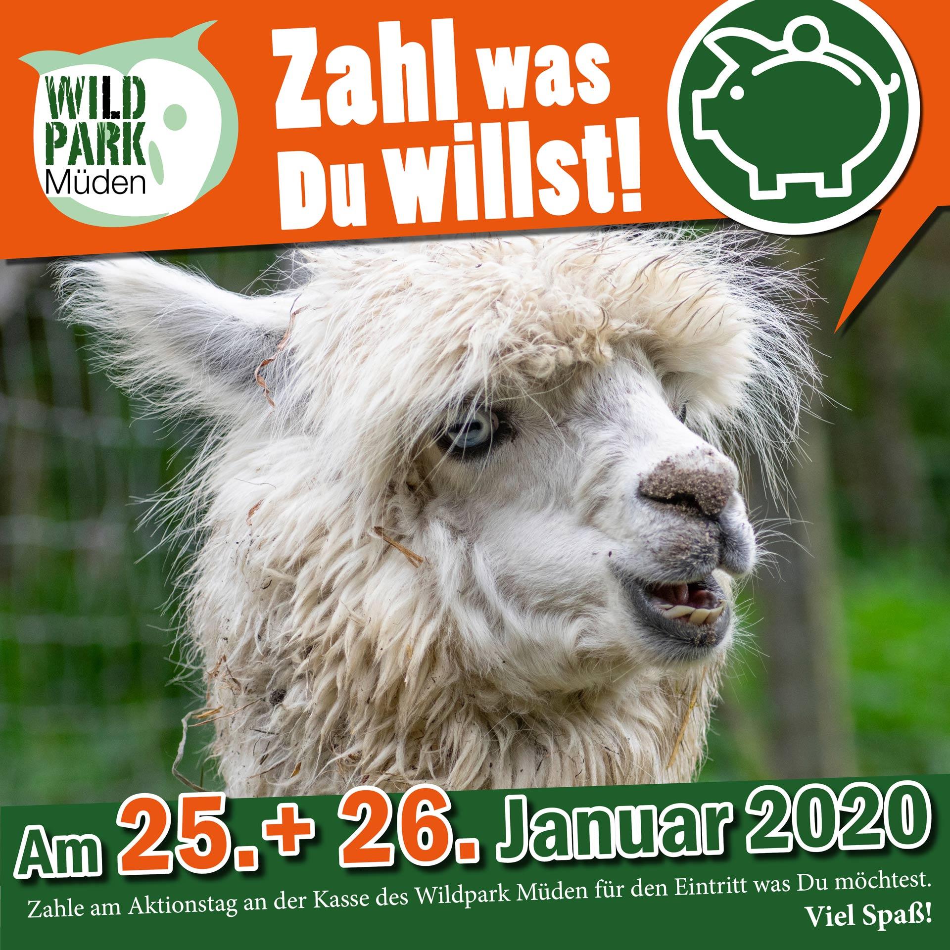 Zahl was du willst Wildpark Müden