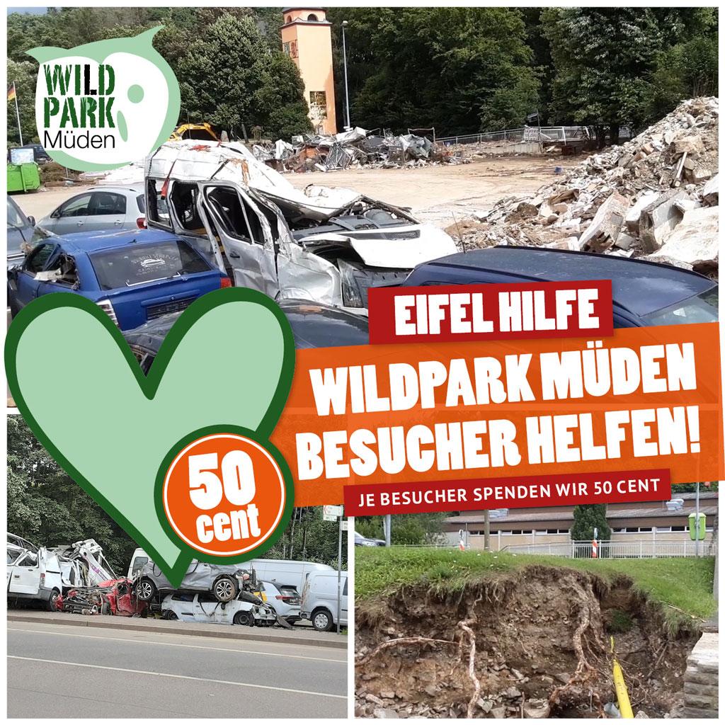 Spendenaktion Flutopfer Eifel